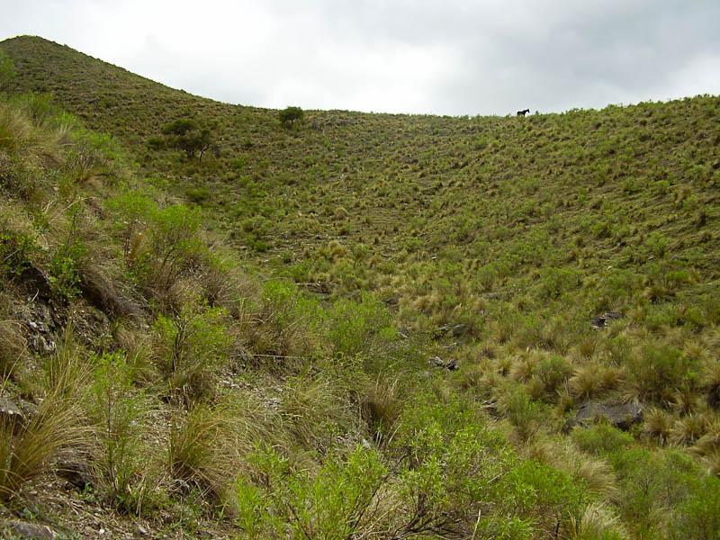 Sierra de Ambato près de la ville d'El Rodeo (Argentine)